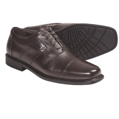 Johnston & Murphy Cullis Shoes - Cap Toe (For Men)