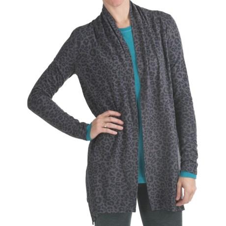 Gramicci Enza Jungle Print Cardigan Sweater - UPF 50 (For Women)