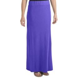 Gramicci Malaysia Camura Skirt - Hemp-Cotton Jersey, UPF 20 (For Women)