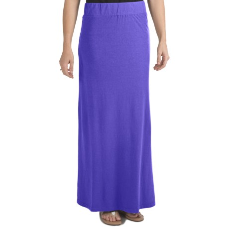 Gramicci Malaysia Camura Skirt - Hemp-Cotton Jersey, UPF 20 (For Women)