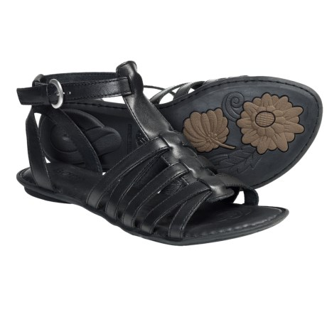 Born Saffron Gladiator Sandals - Leather (For Women)