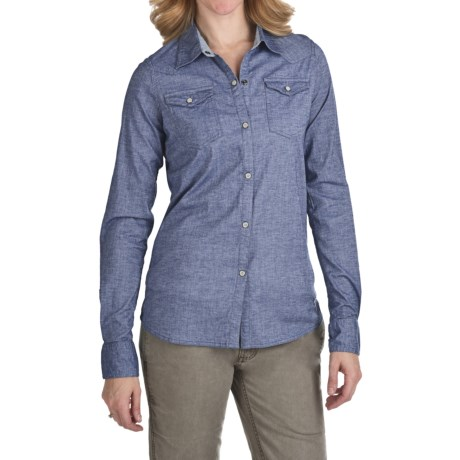 Gramicci Didra Marina Chambray Shirt - Long Sleeve (For Women)