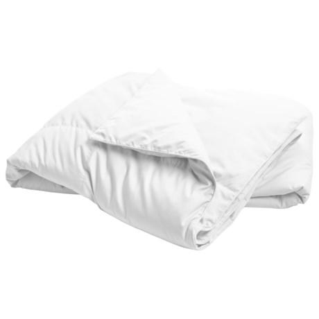 Blue Ridge Home Fashions Microfiber Down-Feather Comforter - Twin