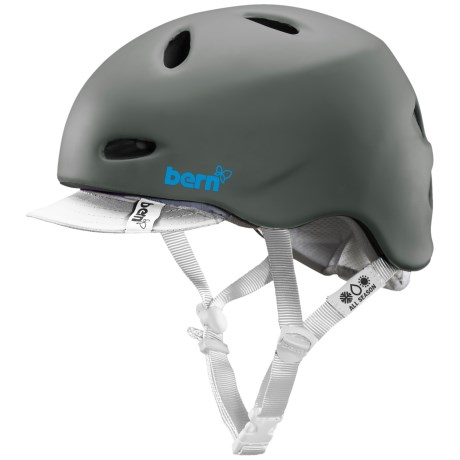 Bern Berkeley Zip Mold® Cycling Helmet - Removable Visor (For Women)