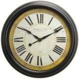 "Sterling & Noble 24"" Old World Wall Clock"