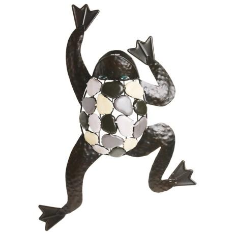Gardman Climbing Frog Wall Art - Metal