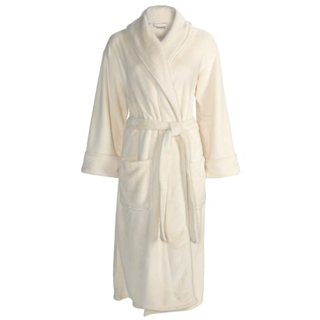 Bellora Hospitality Pearlon Wrap Robe (For Women)