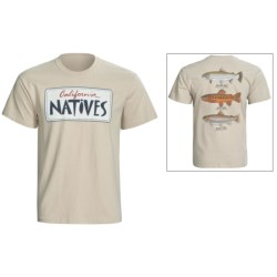 Fintastic Tees Natives T-Shirt - Cotton, Short Sleeve (For Men)