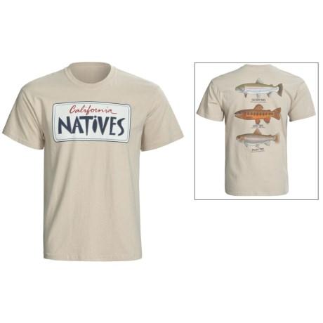 Fintastic Tees Natives T-Shirt - Cotton, Short Sleeve (For Men)