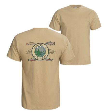 Fintastic Tees Grand Slam T-Shirt - Short Sleeve (For Men)