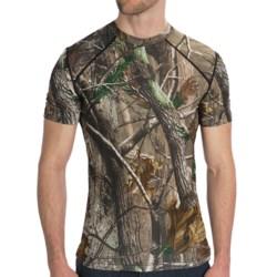 Terramar Camo Essentials Shirt - Crew Neck, Short Sleeve (For Men)