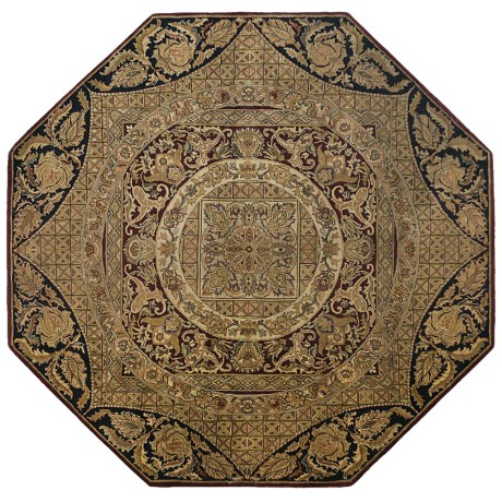 Kaleen Hand-Knotted Wool Area Rug - 8' Octagon