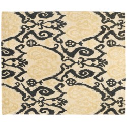 "Hand-Tufted Bombay Savannah Heavy Wool Rug - 7'5""x9'"