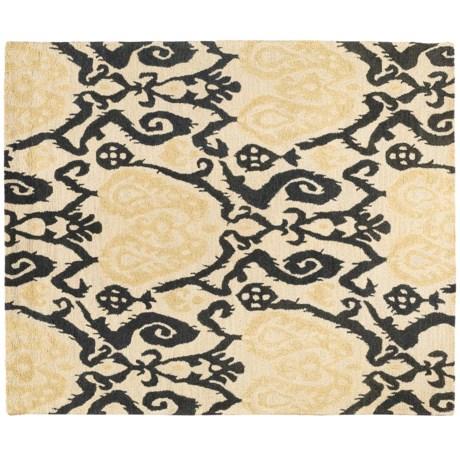 """Kaleen Hand-Tufted Bombay Savannah Heavy Wool Rug - 7'5""""x9'"""
