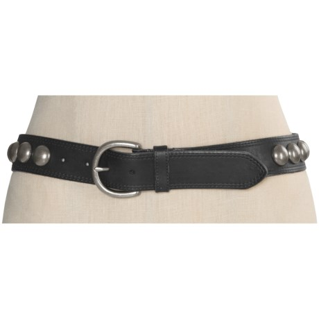 Forest and Culver Concho Belt - Leather (For Women)
