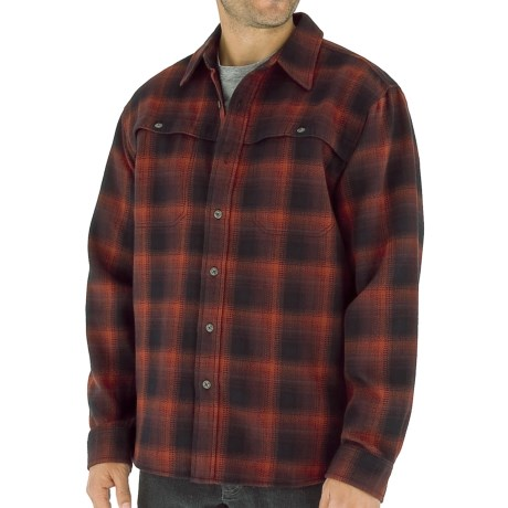 Royal Robbins Timberlodge Flannel Plaid Shirt - Long Sleeve (For Men)