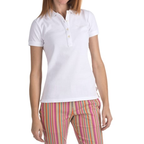 Bogner Fire + Ice Letizia Cotton Pique Polo Shirt - Short Sleeve (For Women)