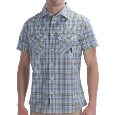 Bogner Fire + Ice Texas Shirt - Button Front, Short Sleeve (For Men)