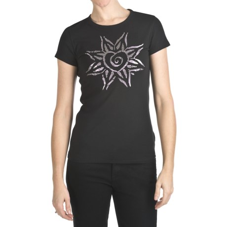 Trust Your Journey Free Heart T-Shirt - Organic Cotton, Short Sleeve (For Women)