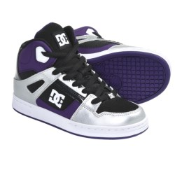 DC Shoes Rebound Skate Shoes (For Boys)