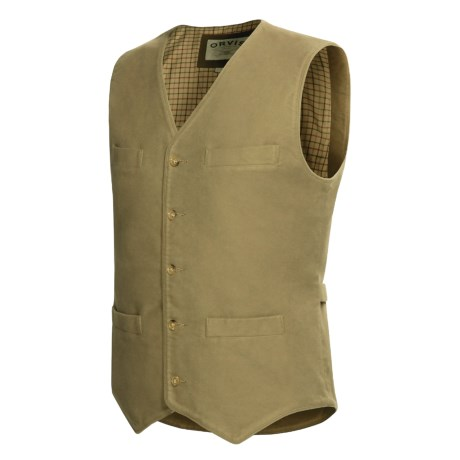 Orvis Moleskin Vest (For Men)