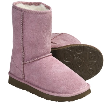 Ukala by Emu Sydney Low Boots - Merino Wool-Lined, Suede (For Boys and Girls)
