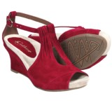 Earthies Veria Too Wedge Sandals - Suede (For Women)