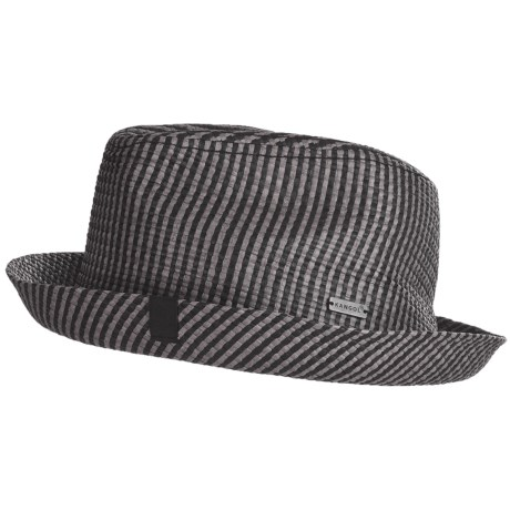 Kangol Jacq Player Fedora Hat - Paper Straw (For Men and Women)