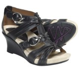 Earthies Lucia Too Wedge Sandals - Leather (For Women)