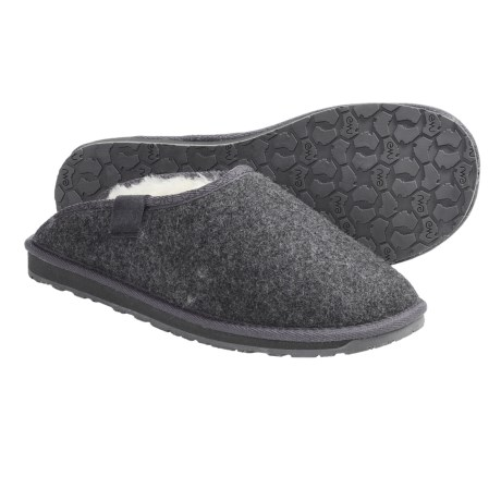 EMU Australia Emu Brookhill Slippers - Sheepskin, Wool (For Men)
