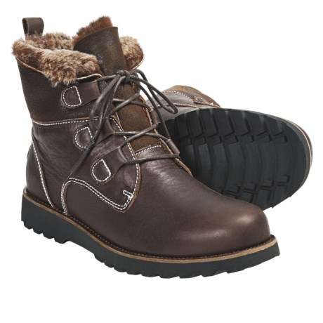 Emu Brunswick Hiking Boots - Sheepskin-Leather (For Men)