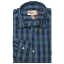 Mason's Cotton Multicolor Plaid Shirt - Long Sleeve (For Men)