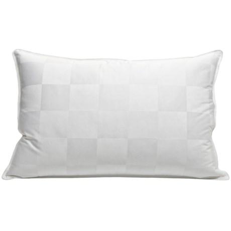 Blue Ridge Home Fashions Hotel Grand® Siberian White Down Pillow - King, 1000 TC Damask