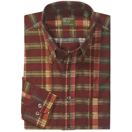 Gitman Brothers Easy Care Button-Down Sport Shirt - Long Sleeve (For Men)