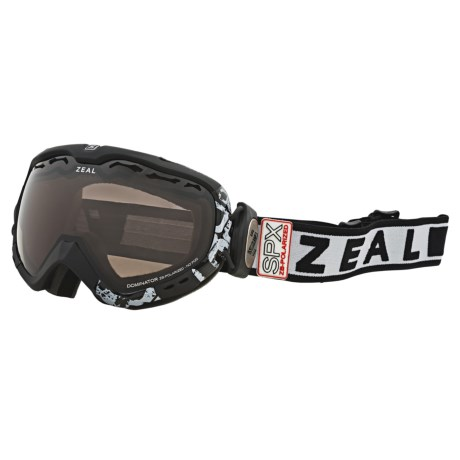 Zeal Dominator SPX Snowsport Goggles - Polarized