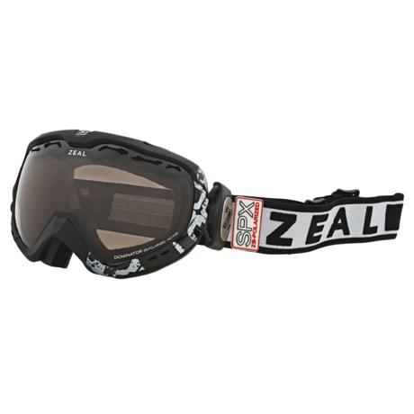 Zeal Dominator SPX Snowsport Goggles - Polarized