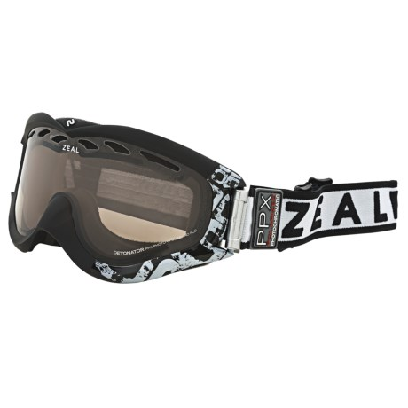 Zeal Detonator PPX Snowsport Goggles - Polarized, Photochromic