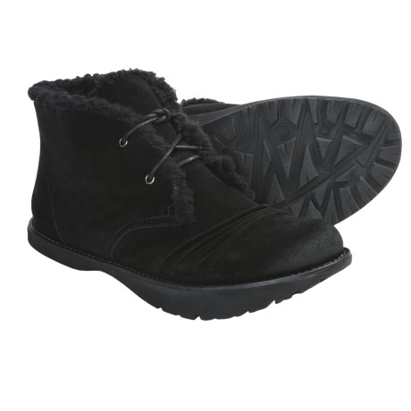 Earth Kalso  Nomad Ankle Boots - Suede, Faux-Shearling Lining (For Women)