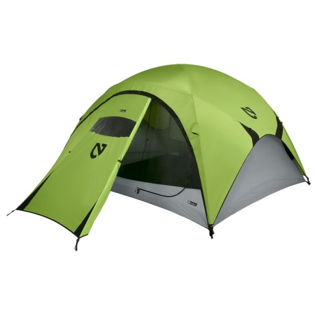 Nemo Asashi Tent with Footprint, Garage, and Garage Footprint - 4-Person, 3-Season