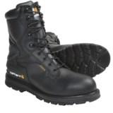 """Carhartt Oil-Tanned Leather Work Boots - 8"""", Waterproof, Steel Toe (For Men)"""