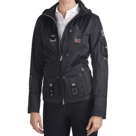Bogner Shiny Ski Gabardine Golf Jacket (For Women)