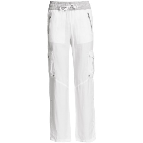 Bogner Berta Gabardine Drawstring Golf Pants  (For Women)