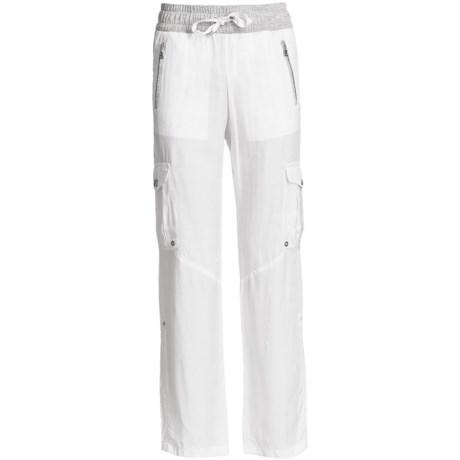 Bogner Berta Gabardine Drawstring Golf Pants  (For Women)