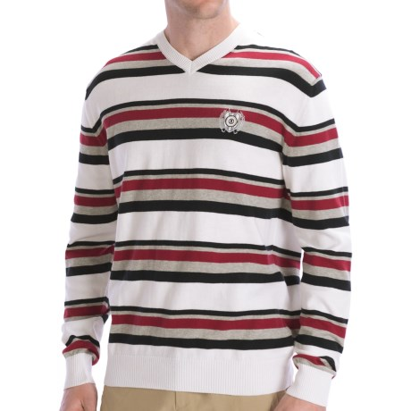 Bogner Cotton Golf Sweater - Long Sleeve (For Men)
