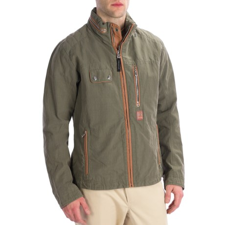Bogner Lennox-G Gabardine Golf Jacket (For Men)