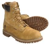"Carhartt Soft Toe Work Boots - 8"", Waterproof, Insulated, Nubuck (For Men)"