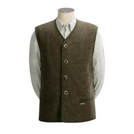 Steinbock Alpine Vest - Boiled Wool (For Men)