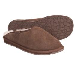 Emu Buckingham Slippers - Sheepskin, Suede (For Men)