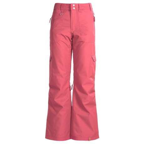 Roxy Golden Track Snow Pants - Insulated (For Women)