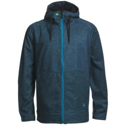 Quiksilver Hoodie 5K Jacket - Soft Shell (For Men)